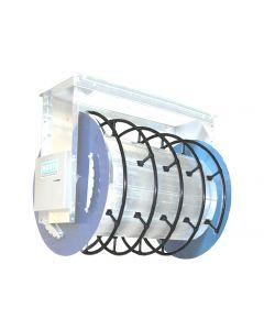 Norfi uga haspel slanggeleiding - trommel 800mm