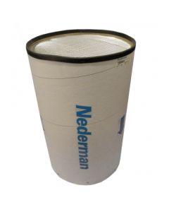 Nederman Filtercart filterpatroon, micro/koolst.