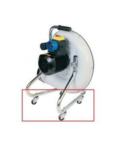 Nederman wielset tbv draagbare ventilator