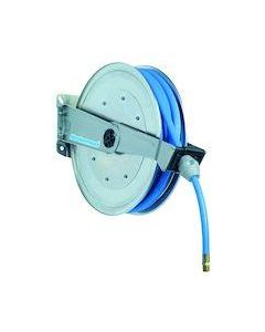 Nederman haspel 889, RVS, sl. 20m. 3/8'' (25MPa), water HD