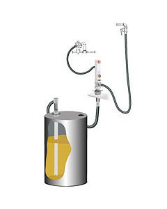 PumpMaster 2 - 3:1 oliepompset voor 205l wandmontage