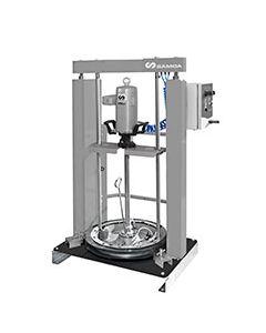 Automatische pneumatische vetpompunit pumpMaster 45 - 70:1