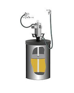 PumpMaster 60 - 80:1 vetpompset vat 185kg