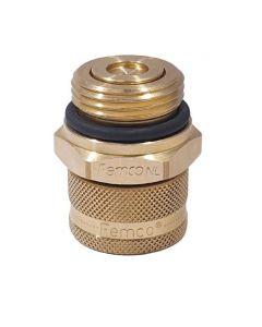 Standard plug M27x2,0-LB-T12 + o-ring