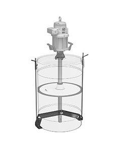 Bevestigingsset voor 50kg vat (vaste opstelling)