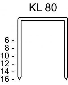 Nietjes type 80, KL 80/16 CNK/3000
